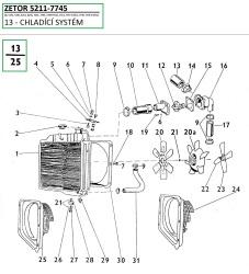 13-Chladící systém