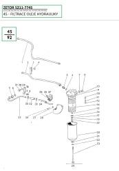 45-Filtrace oleje hydrauliky