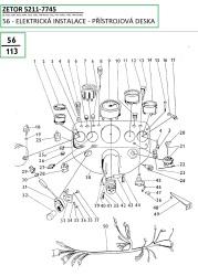 56-Elektrika-přístrojová deska