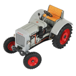 Traktor Deutz F2M 315 - plechový na klíček