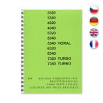 Katalog ND pro Zetor 3320-7340 Turbo 3/98