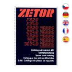 Katalog ND pro Zetor 7520-10540 UŘ III 8/02