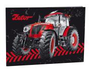 Desky na číslice s motivem traktoru Zetor
