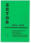 Katalog ND pro Zetor 4712-4718