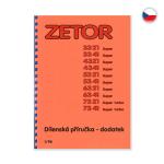 Dílenská příručka pro Zetor 3321-7341 CZ 1/98 - dodatek