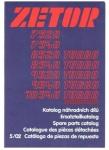 Katalog ND proZetor 7520-10540 UŘ III, 8/02