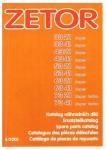 Katalog náhradních dílů pro Zetor 3321-7341, 5/03