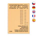 Katalog náhradních dílů pro Zetor 3321-7341