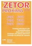 Katalog ND pro Zetor Proxima 6421-8441, 5/08
