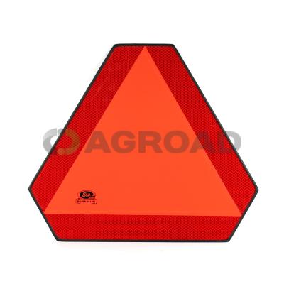 Trojúhelník plechový reflexní - sada s držáky