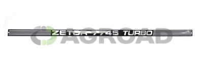 Nápis zadní 7745 Turbo