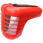 Kapota motoru  laminátová pro Zetor 3011-červená