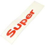 Nápis SUPER - pravý