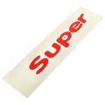 Nápis SUPER -  levý