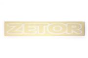 Nápis střechy pro Zetor