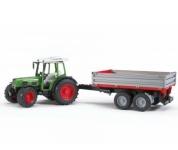 Bruder Fendt 209 S Traktor se sklápěcím vozíkem (1:16)