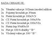"CZPK Sada úplného válce pr.100/4kr.""B"" bílá krabice"
