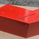 Blatník levý (červená - komaxit)