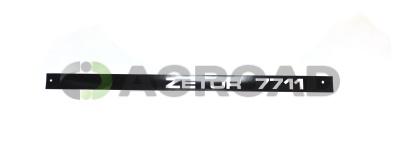 Nápis boční pravý 7711
