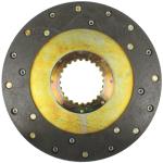 Brzdová lamela CZ s obložením Cu nýty