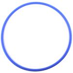 Těsnění válce silikon modré