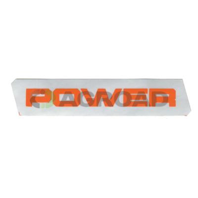 Štítek POWER levý