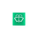 Symbol / víčko zelené  pro ostřikovač čelního skla