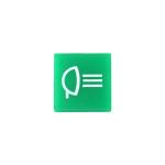 Víčko zelené - zpětná světla