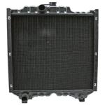 Chladič JX 610x555mm pro New Holland TDD a Case