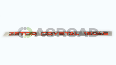 Štítek crystal 12045 levý