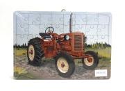 Puzzle s motivem Zetor 25 - dřevěné malované