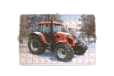 Puzzle s motivem Zetor Forterra 150 HD - zima
