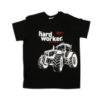 Tričko Hardworker UNISEX černé XXL