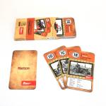Hrací karty - kvarteto s fotografiemi trektorů Zetor
