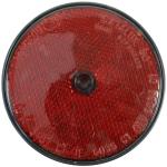 Odrazové sklo *80 červená - na 1 otv.