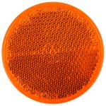 Odrazka oranžová pr.60 mm samolepící