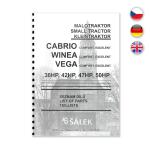 Katalog náhradních dílů VEGA 30,36,47HP