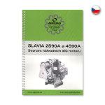 Katalog motoru Slavia 2S90A, 4S90A