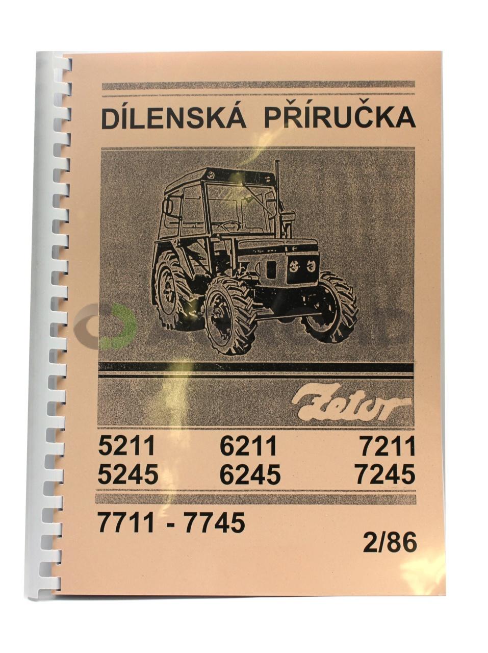 Dilenska Prirucka Pro Zetor 5211 7745 Agroad