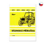 Dílenská příručka pro Zetor 4911-6945