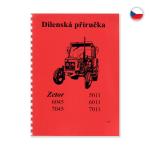 Dílenská příručka pro Zetor 5011-7045