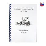 Katalog - seznam náhradních dílů na MT8-046