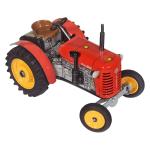 Traktor provedení Zetor 25A - červený plechový na klíček