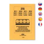 Katalog / seznam náhradní dílů pro ZTS 8211-16245 UŘII + dodatek z r. 1997