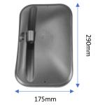 Zrcadlo 175x290mm pro Case C,CS a CVS a Claas Celtis, Temis a 1221
