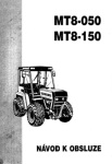 Návod k obsluze MT8-050 a MT8-150