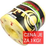 Motouz vazačový PP/UV DTEX 14000 (PP750), baleno po 5kg
