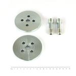 Plnoprůtokový filtr-sada na přestavbu pro Zetor 50 Super(adaptér+adaptér+2x šroub)